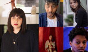 Photo os Stefania Bulbarella, Yeujia Low, Le'Andra LeSeur, Dena Igusti and Ray Jordan Achan