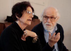 Photo of George Bartenieff and Karen Malpede