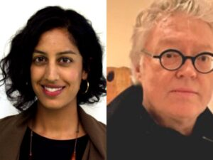 Photo of Simon Dove and Megha Ralapati