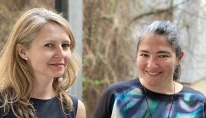 Photo of Övül Ö. Durmusoglu & Joanna Warsza