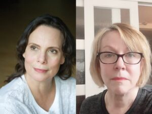 Headshot of Emily Mann & Carol Martin